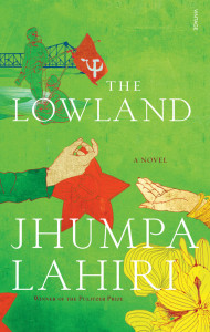 The Lowland, by Jhumpa Lahiri. London: Bloomsbury, 2013. (Purchased for Kindle, Amazon Australia).