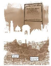 A page from Delhi Calm.